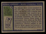 1972 Topps #16  Ron Hornsby  Back Thumbnail