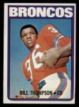1972 Topps #24  Bill Thompson  Front Thumbnail
