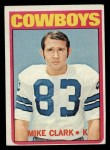 1972 Topps #27  Mike Clark  Front Thumbnail