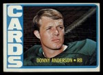 1972 Topps #32  Donny Anderson  Front Thumbnail