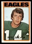 1972 Topps #228  Pete Liske  Front Thumbnail