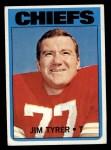 1972 Topps #111  Jim Tyrer  Front Thumbnail