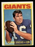 1972 Topps #118   -  Norm Snead Pro Action Front Thumbnail