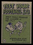 1972 Topps #122   -  Roger Staubach Pro Action Back Thumbnail