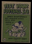 1972 Topps #132   -  Bob Griese Pro Action Back Thumbnail