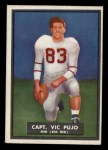 1951 Topps #57  Vic Pujo  Front Thumbnail