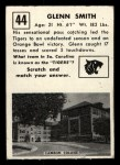 1951 Topps #44  Glenn Smith  Back Thumbnail