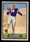 1951 Topps Magic #63  Hi Faubion  Front Thumbnail