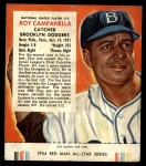 1954 Red Man #13 NL Roy Campanella  Front Thumbnail