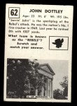 1951 Topps Magic #62  John Dottley  Back Thumbnail