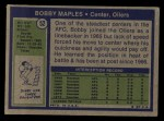 1972 Topps #52  Bobby Maples  Back Thumbnail