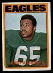 1972 Topps #73  Henry Allison  Front Thumbnail