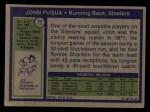 1972 Topps #77  John Fuqua  Back Thumbnail