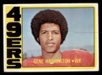 1972 Topps #90  Gene Washington  Front Thumbnail