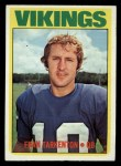 1972 Topps #225  Fran Tarkenton  Front Thumbnail