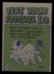 1972 Topps #129   -  Calvin Hill Pro Action Back Thumbnail