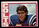 1972 Topps #141  Rick Volk  Front Thumbnail