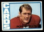 1972 Topps #161  Jackie Smith  Front Thumbnail
