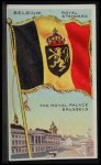 1911 Flags of All Nations T59 #12 JAC  Belgium Royal Standard Front Thumbnail