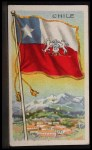 1911 Flags of All Nations T59 #25 JAC  Chile Front Thumbnail