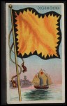 1911 Flags of All Nations T59 #28 REC  Cochin-China Front Thumbnail