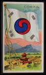 1911 Flags of All Nations T59 #30 REC  Corea Front Thumbnail