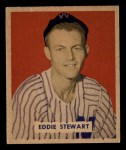 1949 Bowman #173  Ed Stewart  Front Thumbnail