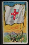 1911 Flags of All Nations T59 #5 HUS  Australia Front Thumbnail