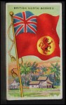 1911 Flags of All Nations T59 #18 SI  British North Borneo Front Thumbnail