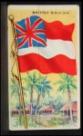 1911 Flags of All Nations T59 #19 REC  British Samoa Front Thumbnail