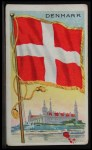 1911 Flags of All Nations T59 #34 REC  Denmark Front Thumbnail