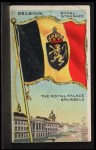 1911 Flags of All Nations T59 #12 REC  Belgium Royal Standard Front Thumbnail