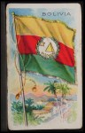 1911 Flags of All Nations T59 #15 REC  Bolivia Front Thumbnail