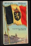 1911 Flags of All Nations T59 #12 SI  Belgium Royal Standard Front Thumbnail