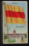 1911 Flags of All Nations T59 #9 SI  Baden Front Thumbnail