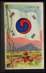 1911 Flags of All Nations T59 #30 SI  Corea Front Thumbnail
