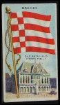 1911 Flags of All Nations T59 #17 DER  Bremen Front Thumbnail
