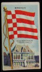 1911 Flags of All Nations T59 #17 REC  Bremen Front Thumbnail