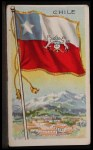1911 Flags of All Nations T59 #25 REC  Chile Front Thumbnail