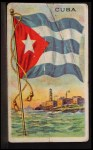 1911 Flags of All Nations T59 #32 SR  Cuba Front Thumbnail