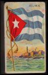 1911 Flags of All Nations T59 #32 REC  Cuba Front Thumbnail