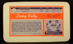 1970 Topps Super #8  Leroy Kelly  Back Thumbnail