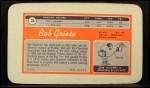 1970 Topps Super #35  Bob Griese  Back Thumbnail