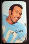 1970 Topps Super #12  Lem Barney  Front Thumbnail