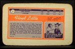 1970 Topps Super #2  Floyd Little  Back Thumbnail