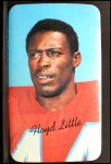 1970 Topps Super #2  Floyd Little  Front Thumbnail
