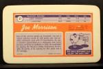 1970 Topps Super #27  Joe Morrison     Back Thumbnail