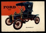 1954 Topps World on Wheels #73   Ford Runabout 1906 Front Thumbnail