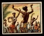1950 Topps Bring Em Back Alive #14   Tribal Frenzy Front Thumbnail