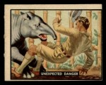 1950 Topps Bring Em Back Alive #53   Unexpected Danger Front Thumbnail